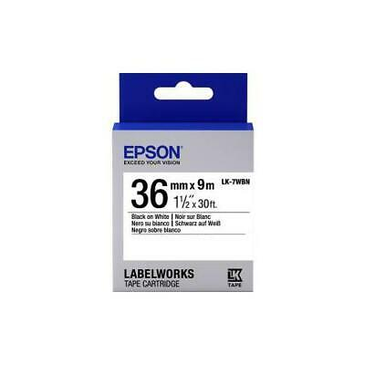 Epson Label Tape - 36 mm Width x 9 m Length - White
