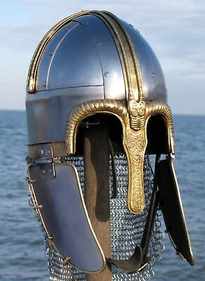 Coppergate Viking Helmet: Saxon Ragnor Reproduction Larp York