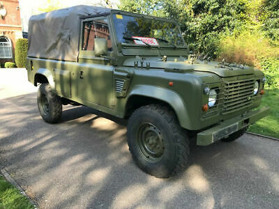 Land Rover Defender 110 Wolf 300 TDi LHD Soft Top