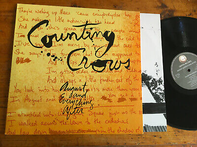 LP 180 Gram  2013  Counting Crows ‎– August And Everything After