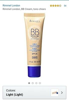 Rimmel BB CREAM 9IN1 LIGHT. SPF25