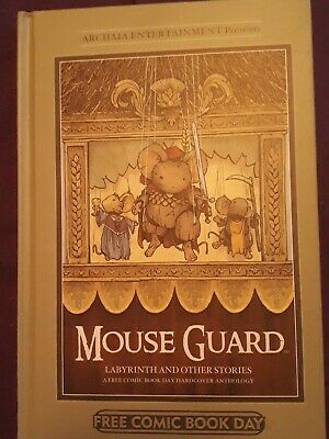 WIND IN THE WILLOWS IDW /'16 LMTD DAVID PETERSEN MOUSE GUARD SIGNED HARDCVR NEW