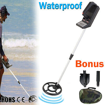 Metal Detector Deep Sensitive Adjustable Search Coin Treasure Target Gold Hunt