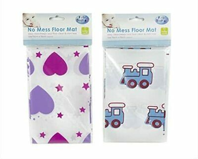 Baby Splash Mat Toddler Feeding No Mess Floor Sheet Highchair Mealtime Foldable