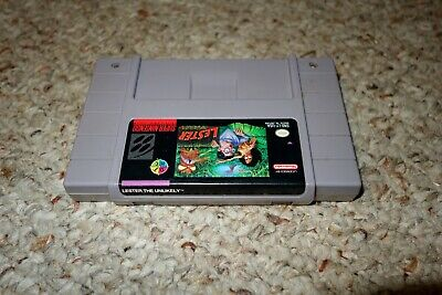 Lester the Unlikely (Super Nintendo Entertainment System SNES, 1994) Cart Only