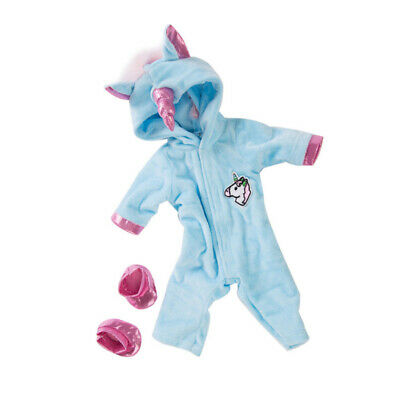 Unicorn Jumpsuit Doll Sets Doll Clothes with Shoes Baby Dolls Decor Clothing