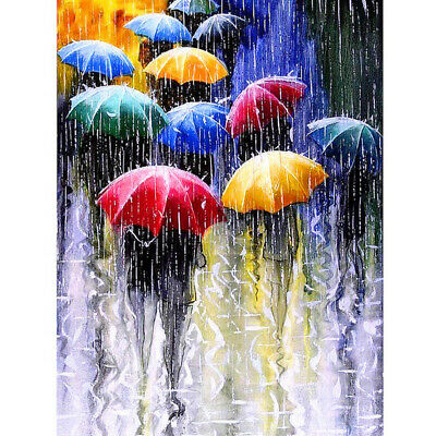 5D Umbrella Diamond Painting Full Drill Craft Kits Embroidery Decor Art Gift DIY