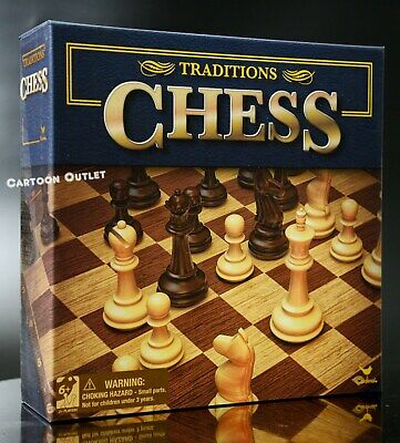 Chess Set Game Board Classic Family Fun Multiplayer Children Teens Adults New