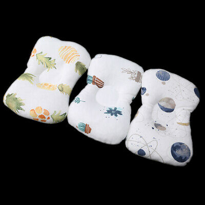 Infants Cushion Baby Head Support Pillow Neck Cotton Shaping Soft Pillow L