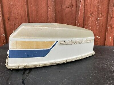 1974 Evinrude 50 HP 74 Outboard Motor Engine Hood Cover Cowling