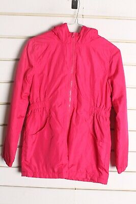 George Girls Kids Youths Rain Jacket - Pink - Size Age 7-8 Years - (DD6)