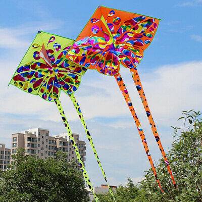 Kids kite Toy Creative Butterfly Kite WithTail Easy to fly Outdoor Sport Toys P1