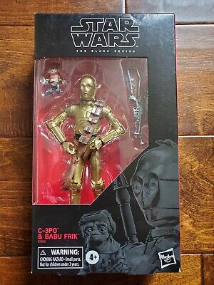 C3-PO /& Babu Frick Star Wars The Black Series 6-Inch ACTION FIGURE NEW UNOPENED