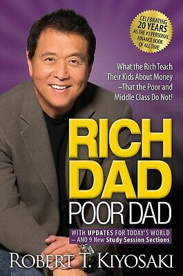 Rich Dad Poor Dad: What the Rich Teach Their Kids About Money (P. D .F)⚡