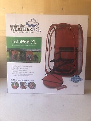 New Red Only The Original Pop-up Weather Pod Insta Pod XL