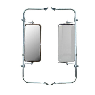 Wide Mount Loop Arm Assembly Stainless Steel West Coast Heated Mirrors