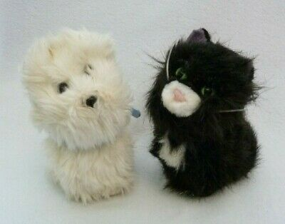 American Girl Doll Coconut White Puppy Dog Licorice Kitty Black Cat Pets