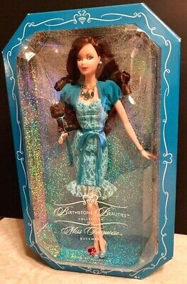 Barbie Miss Turquoise December Birthstone Beauties Collection K8701-Nib