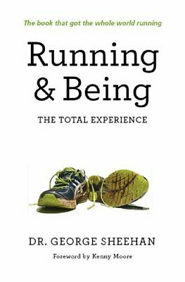 Running & Being by George Sheehan Book The Fast Free Shipping
