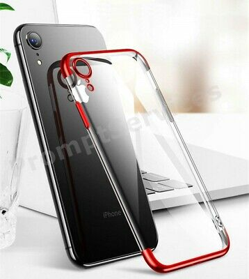 For iPhone XR 8 7 6s Plus XS 11 Soft Shockproof Silicone Protective Case Cover