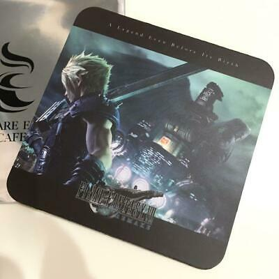 Final Fantasy VII FF7 ​​remake Aeris coaster Sukueni cafe Japanese Limited