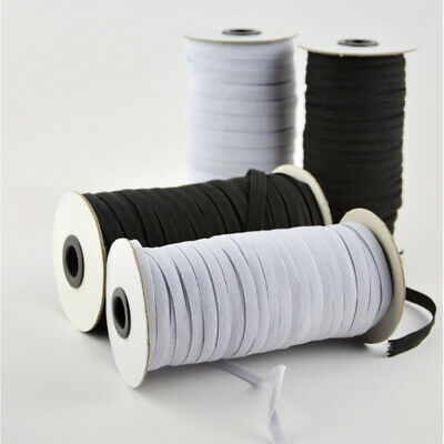 Flat Elastic Bungee Rope Roll Shock String Stretchable Cord Dress Making Craft