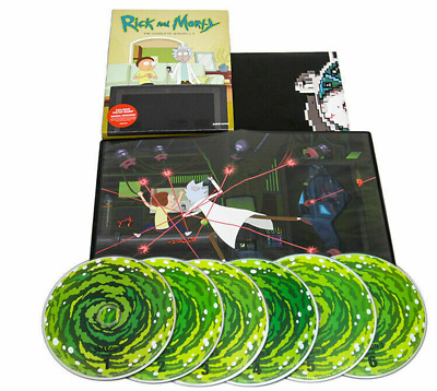 Rick and Morty: Complete Series Season 1-3 (DVD, 6-Disc Set) Factory Sealed