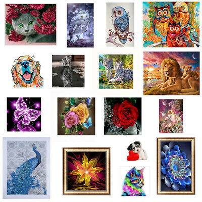 5D DIY Diamond Painting Cross Stitch Embroidery Picture Craft Decor