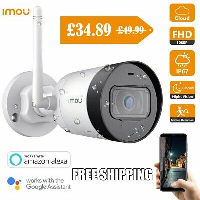 Imou WIFI Security Camera Outdoor 1080P CCTV H.265 IP Bullet Camera Night Vision