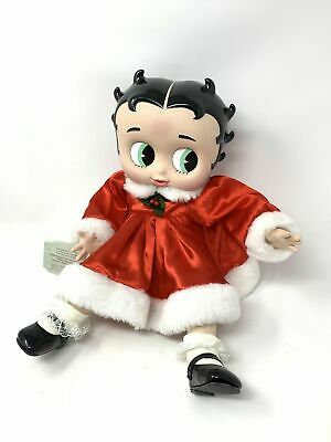 Marie Osmond Porcelain Betty Boop Christmas Porcelain Doll  Lim. Edition Of 2000