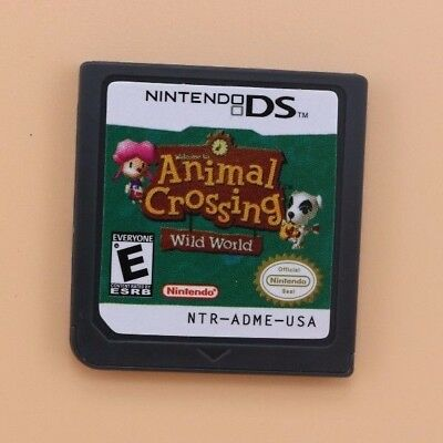 Animal Crossing: Wild World (Nintendo DS) Game Only for DS / DSi / 3DS XL  Gift*