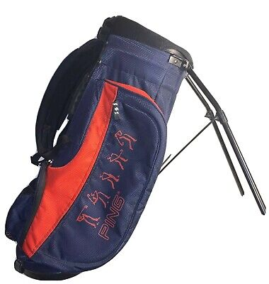 Ping Junior Stand Carry Golf Bag 4 Way Divided Junior Youth Kids Red Blue 31 64 67 Picclick