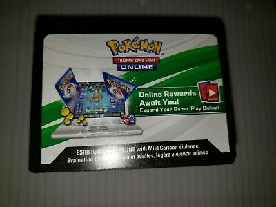 1x Pokemon TCG Online Code Card S/&M Burning Shadows Booster FAST Email delivery