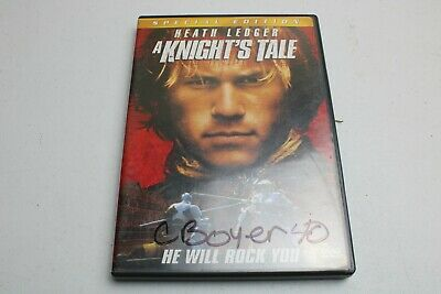 A Knights Tale (DVD, 2001, Special Edition)-HEATH LEDGER