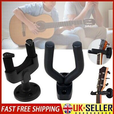 Guitar Wall Mount Hanger Hooks Holder Stand Rack For Electric Bass Display