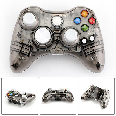 Wireless Bluetooth Game Remote Controller Gamepad Fits Microsoft Xbox 360 Black
