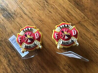 Jibbitz Disney Croc Clog Bracelet Charms***First Responders**Fire & Rescue