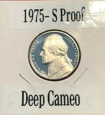 1975-S Proof Jefferson Nickel