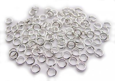 250 Binderinge 12mm Ösen GOLD Metall Ring Verbinder Spaltringe BEST SF20