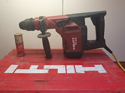 Hilti TE55 SDS Hammer Drill 110v With Original Case, Grease And Longer Lead...