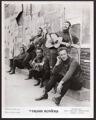 THE IRISH ROVERS folk singers based in Canada ORIG PUBLICITY PHOTO 8x10