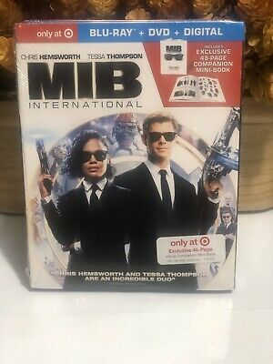 MIB (MEN IN BLACK) INTERNATIONAL TARGET EXCLUSIVE (Blu-Ray + DVD + Digital)