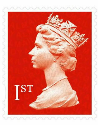 First and second class Stamps Royal Mail Letter Self Adhesive -100% genuine