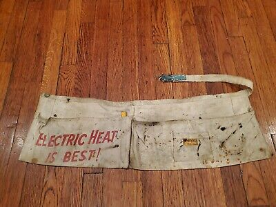 1940s-50s Carters Watch The Wear Advertising Smock Apron Rare!