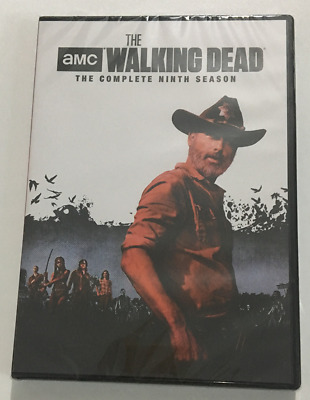The Walking Dead : The Complelte Season 9 (DVD, 2019, 5-Disc Set) New & Sealed