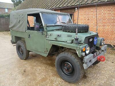 1990 Land Rover Lightweight EX RAF FFR Petrol Manual