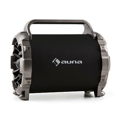 auna Blaster M ALTAVOZ REPRODUCTOR BLUETOOTH PORTATIL INALAMBRICO LUZ LED CD AUX