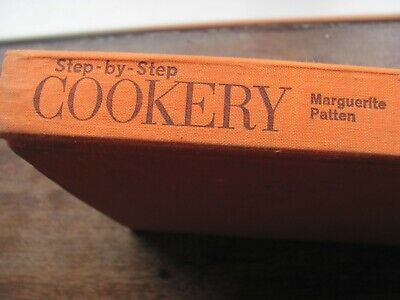 Hard Back - Step by Step Cookery - Marguerite Patten 1964  Hamlyn
