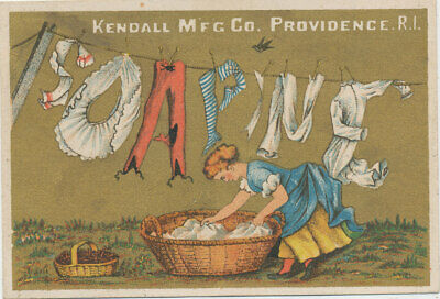 D2949  Victorian Trade Card  Soapine Soap