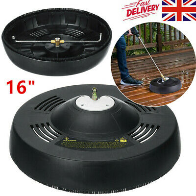 """16"""" Surface Cleaner Universal Pressure Washer Attachment for Patios Decks"""
